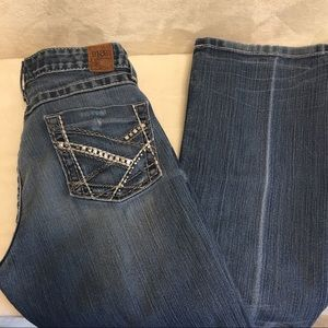 BKE Sabrina Mid Rise Bootcut Jeans
